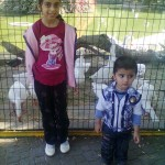 Jasim with Sonia Api in Karachi Zoo 150x150 Jasim in Karachi Zoo