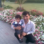 Mamoo Jaan with Hadi 150x150 Luqman with Jasim and Hadi in Bukhari Park
