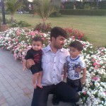 Papa Jaan with Luqman and King Jasim 1 150x150 Luqman with Jasim and Hadi in Bukhari Park