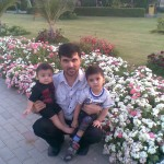 Papa Jaan with Luqman and King Jasim 2 150x150 Luqman with Jasim and Hadi in Bukhari Park
