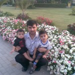 Papa Jaan with Luqman and King Jasim 3 150x150 Luqman with Jasim and Hadi in Bukhari Park