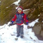 Jasim in snow1 150x150 Luqman with his elder brother Jasim in Murree