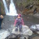 Luqman at waterfall 1 150x150 Trip to Pearl Continental Hotel Bhurban, Darya Neelam and Waterfall