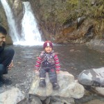 Luqman at waterfall 2 150x150 Trip to Pearl Continental Hotel Bhurban, Darya Neelam and Waterfall