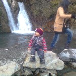 Luqman at waterfall 4 150x150 Trip to Pearl Continental Hotel Bhurban, Darya Neelam and Waterfall