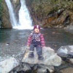 Luqman at waterfall 5 150x150 Trip to Pearl Continental Hotel Bhurban, Darya Neelam and Waterfall