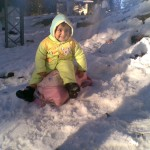 Luqman is snow 1 150x150 Second day pictures of Luqman and Jasim at Patriata, Murree