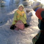 Luqman is snow 2 150x150 Second day pictures of Luqman and Jasim at Patriata, Murree